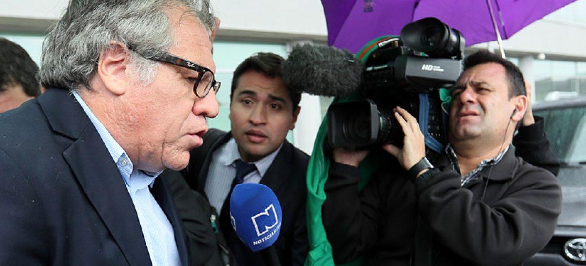 """Luis Almagro: repatriaciones del gobierno venezolano son """"mentira"""""""