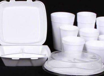 AN discutirá la regulación de envases Styrofoam en comercialización de alimentos