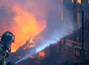 Incendio en Chile dejó 100 casas destruidas y 400 damnificados