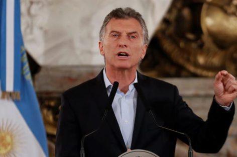 Gobierno de Macri espera que caso de los sobornos llegue a juicio en 2019