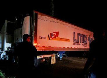 Hallaron otro contenedor en México que elevó a 300 cifra de cadáveres