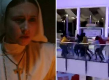 Los videos del «Bagdad» que se formó en el Multiplaza durante el estreno de «La Monja»