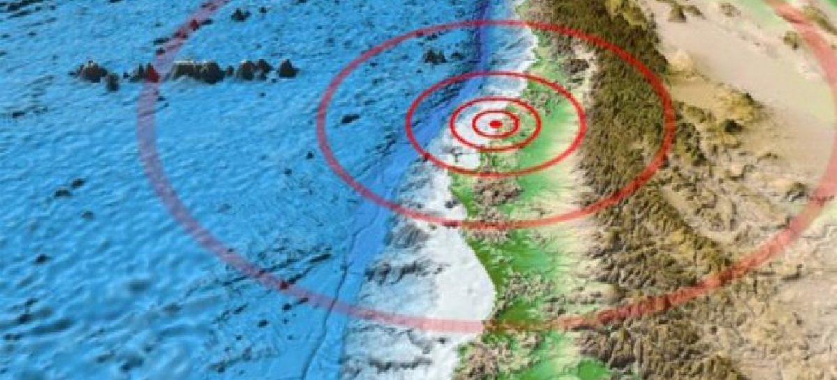 Sismo de 5,8 grados sacude tres regiones del norte y centro de Chile