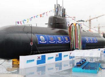Corea del sur lanzó su primer submarino con misiles