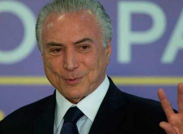 Michel Temer reiteró que Brasil seguirá siendo solidario con venezolanos