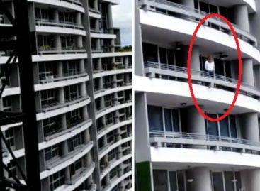 Mujer extranjera cayó de un piso 22 de edificio en El Cangrejo (supuestamente trataba de tomarse un selfie)