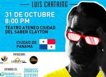 Humorista venezolano Luis Chataing regresa a Panamá para presentar nuevo <i>stand up</i>