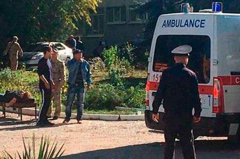 Estudiante fue autor del ataque a colegio de Crimea