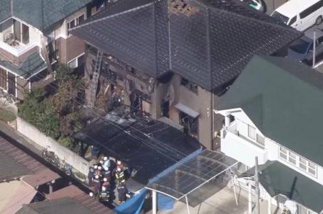 Seis personas murieron durante incendio en casa de Japón