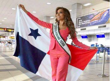 La Señorita Panamá Tierra partió a Filipinas a buscar la corona