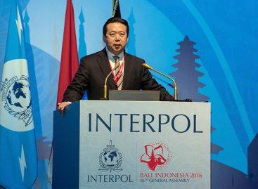 China confirmó la detención del presidente de Interpol