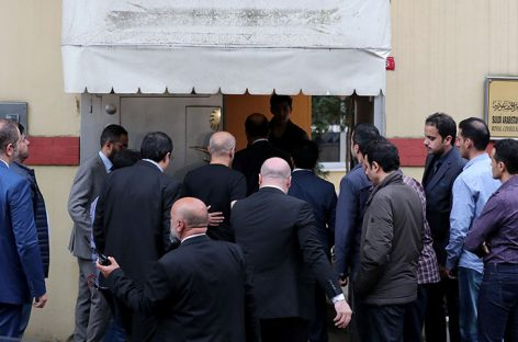 Agentes turcos entraron a consulado saudí a investigar desaparición Khashoggi