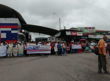 Sindicalistas de Costa Rica vuelven a cerrar frontera con Panamá