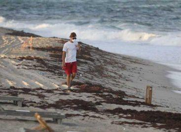 Cerraron playas de Miami por marea roja