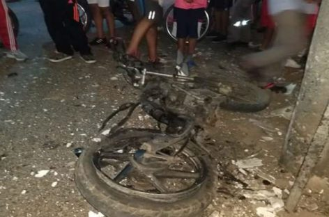 Atentado con motocicleta bomba dejó cuatro heridos en Colombia