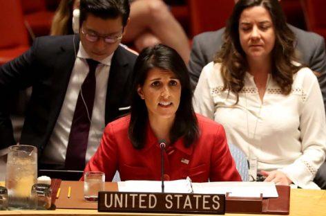 Nikki Hayley dimitió a su cargo como embajadora ante la ONU