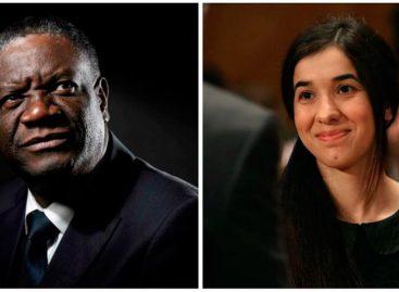 Mukwege y Murad ganaron Nobel de la Paz por combatir violencia sexual en guerra