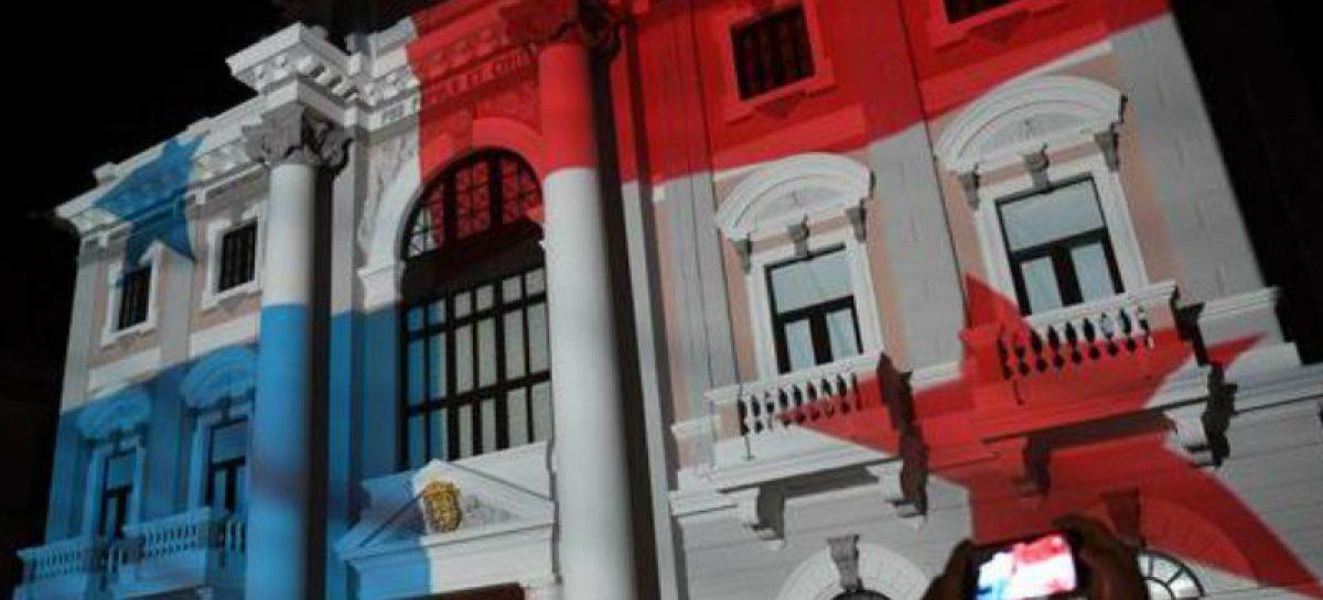 Encendido de luces este 31 de octubre marca inicio de las fiestas patrias