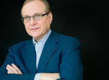 El cáncer se llevó a Paull Allen, confundador de Microsoft y responsable del avión más grande del mundo