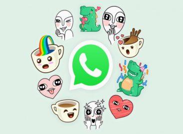 Así podrás usar los nuevos stickers de WhatsApp