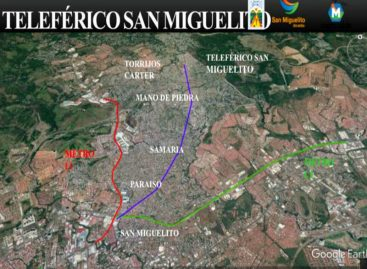 Presentan el proyecto de Teleférico de San Miguelito