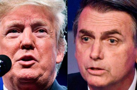 Trump manifestó que tuvo una excelente conversación con Bolsonaro