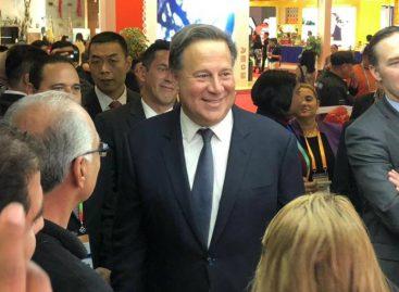 Varela inauguró pabellón panameño en la Feria Internacional de Importaciones de China