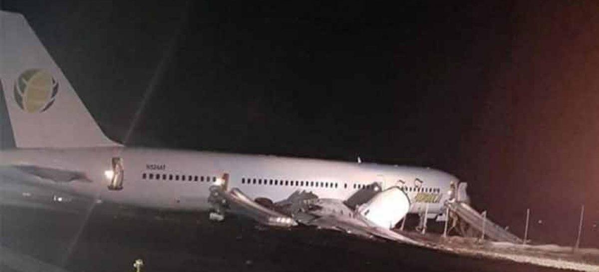 Aterrizaje de emergencia dejó al menos 6 heridos en Guyana