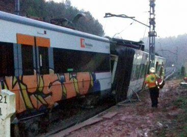 Un muerto tras descarrilarse un tren en las cercanías de Barcelona