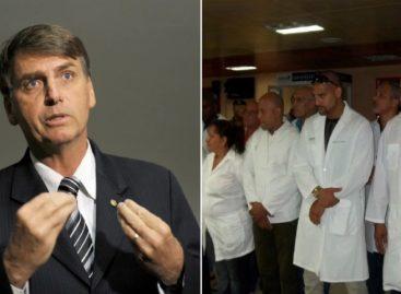 Bolsonaro afirmó que no admitirá médicos cubanos