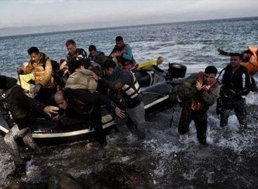Desaparecieron 10 migrantes al cruzar en bote de Turquía a Grecia