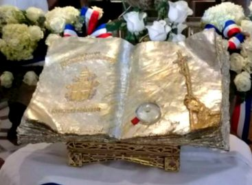 Reliquia con gotas de sangre de Juan Pablo II están en Panamá