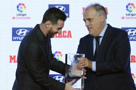 Messi galardonado como 'Pichichi' y Jugador Más Valioso de La Liga