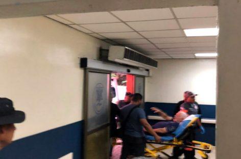 Por vómitos y crisis hipertensiva llevaron a Martinelli al Hospital Santo Tomás
