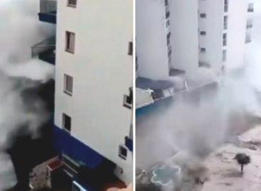 Las impactantes olas de hasta 6 metros que causaron cuantiosos daños en Tenerife (+Videos)