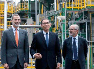 El Rey avala en Perú apuesta española por combustibles menos contaminantes