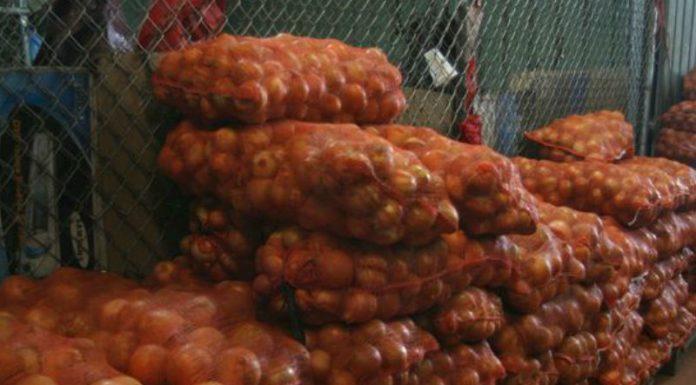 escasez de cebolla