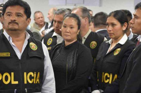 Recluyeron a Keiko Fujimori en la misma prisión estuvo la esposa de Humala