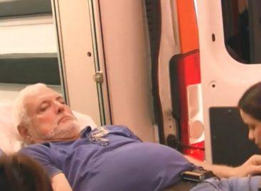 Martinelli sigue en cuidados coronarios del HST y presenta dificultades del habla
