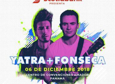 Conciertos en Panamá: Yatra y Fonseca compartirán escenario en el Centro de Convenciones Amador