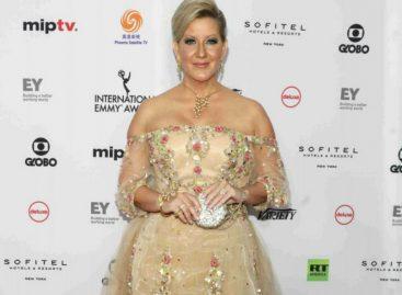 La primera dama estuvo en la entrega de los Premios Emmy en Nueva York