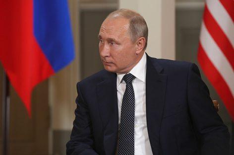Putin apoya la retirada de tropas estadounidenses de Siria