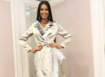 Rosa Montezuma no usó nagua pero sí sus chaquiras para entrevista con el jurado de Miss Universo