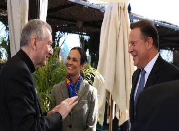 Varela se reúne con Pietro Parolin para ultimar detalles de visita del Papa Francisco