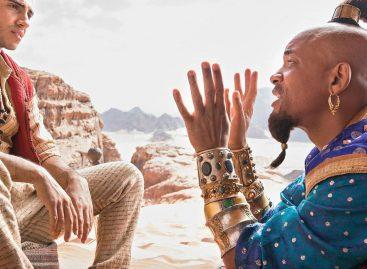 Así luce Will Smith como el «genio de la lámpara» de Aladdin (+primeras imágenes de la cinta)