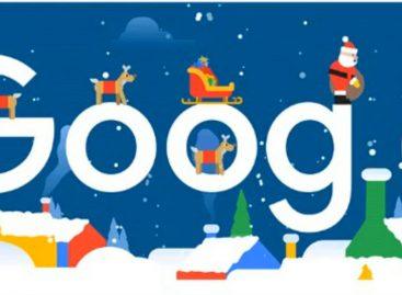 Google celebra la Navidad con su doodle y Santa