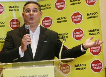 Marco Ameglio se acerca al segundo lugar de los precandidatos por libre postulación