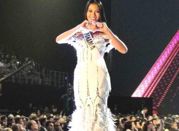 Rosa Montezuma no logró clasificar en Miss Universo pero está llena de ilusiones y nuevos proyectos
