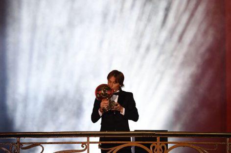 Modric rompió hegemonías y ganó el Balón de Oro 2018