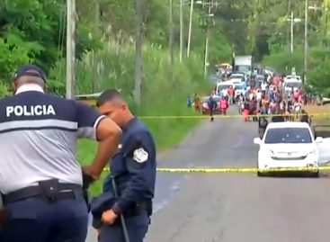 Se reporta doble homicidio en Colón